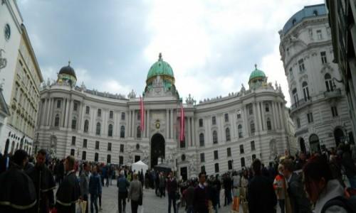 Zdjecie AUSTRIA / Wiedeń. / Wiedeń. / Panorama: Wiedeń - Pałac Cesarski.