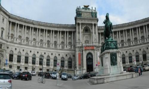 Zdjecie AUSTRIA / Wiedeń. /  Pałac Hofburg - siedziba Habsburgów. / Panorama Wiedeń - Pałac Hofburg - siedziba Habsburgów.