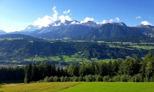 Zdjęcie AUSTRIA / kraj związkowy Styria / Schladming / Góry Hochwurzen i Planai