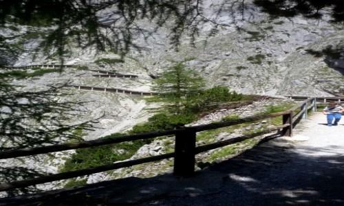 Zdjęcie AUSTRIA / Kraj związkowy Styria / Schladming / Droga do jaskini lodowej