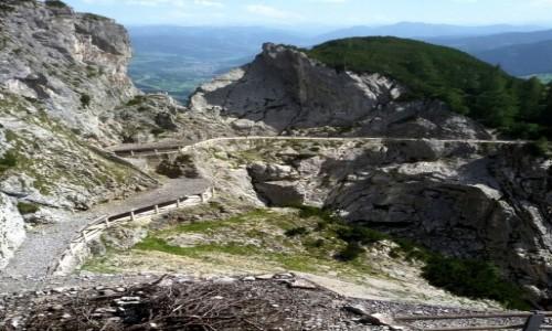 Zdjęcie AUSTRIA / Kraj związkowy Styria / Schladming / Podejście do jaskini dla leniwych