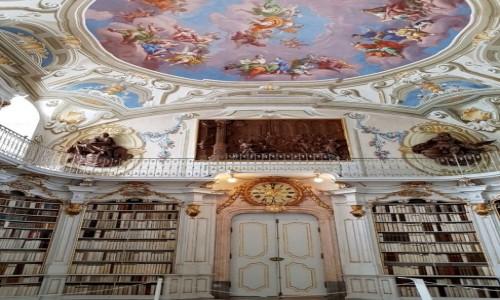 Zdjecie AUSTRIA / kraj związkowy Styria / Admont / Biblioteka, zbiory największe na świecie