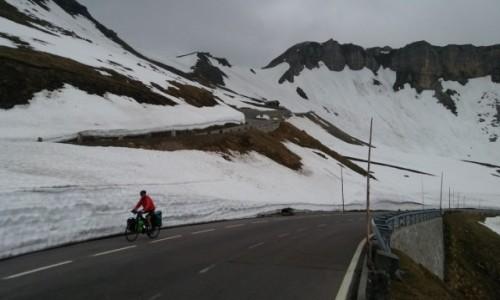 Zdjecie AUSTRIA / Alpy / Droga z Heiligenblut / Wdrodze na przeł. Hochtor 2504 npm