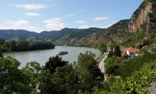 AUSTRIA / - / gdzieś na szlaku :) / Nad pięknym modrym Dunajem