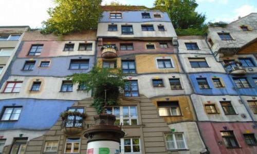 Zdjecie AUSTRIA / - / Wiedeń / Kamienica Hundertwassera