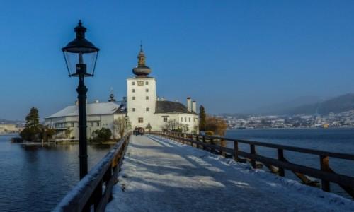 Zdjęcie AUSTRIA / Alpy Salzburskie / Gmunden / Zamek Ort
