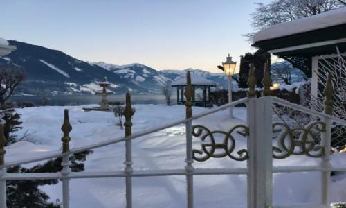 Zdjecie AUSTRIA / Region Salsburg / Zell am See / Tajemniczy zimowy ogród