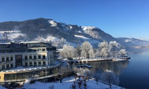 Zdjecie AUSTRIA / Region Salsburg / Zell am See /  Baśniowa zima