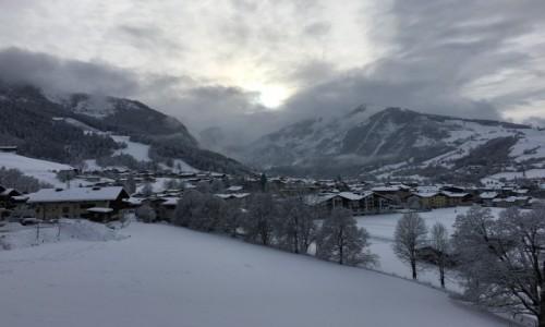 Zdjecie AUSTRIA / Kaprun / Kaprun / Zimowy pejzaż Kaprun