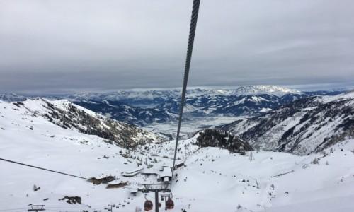 Zdjęcie AUSTRIA / Kaprun / Kitzsteinhorn / Wjazd na lodowiec