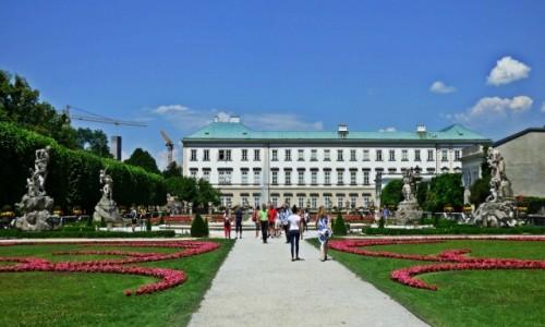 Zdjęcie AUSTRIA / Salzburg / Schloss Mirabell / Austriacka wyprawa