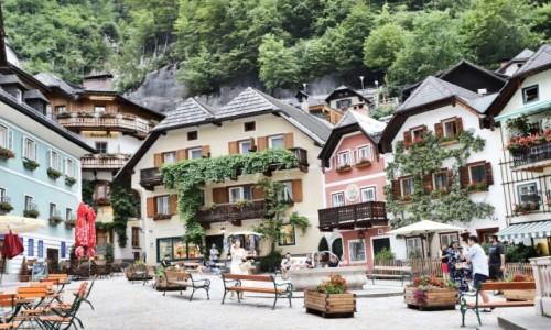 Zdjecie AUSTRIA / Górna Austria / HALLSTATT / Cukierkowy Hallstatt
