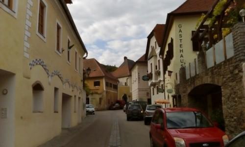 Zdjęcie AUSTRIA / Dolina Wachau / Weissenkirchen / Uliczka w Weissenkirchen