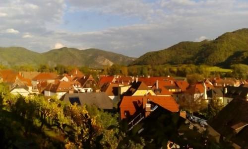 Zdjęcie AUSTRIA / Dolina Wachau / Weissenkirchen / Dachy Weissenkirchen