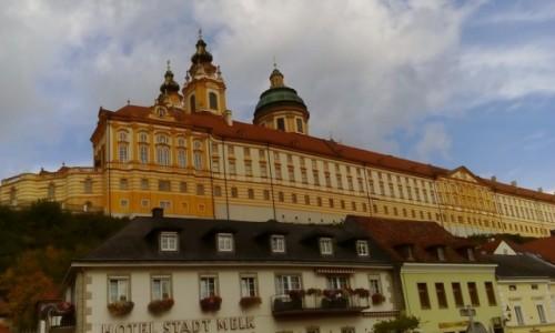 Zdjęcie AUSTRIA / Dolina Wachau / Melk / Klasztor w Melk