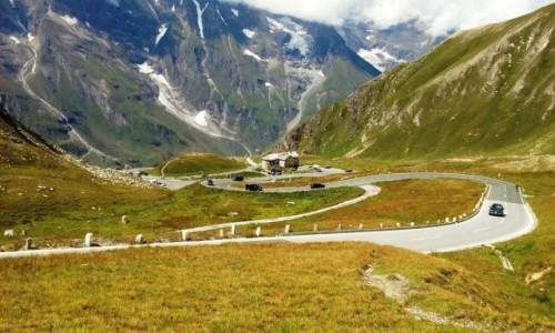 Zdjecie AUSTRIA / Alpy / Alpy / alpejskie doliny rowerem w dół