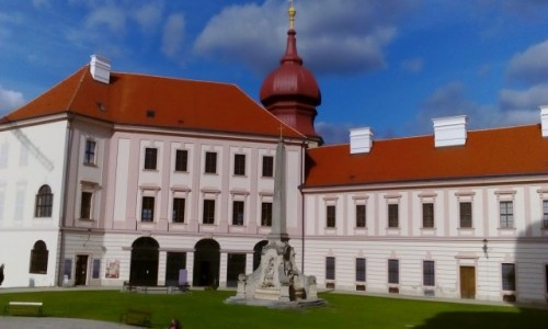AUSTRIA / Dolina Wachau / Göttweig / Göttweig - klasztor