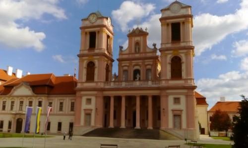 AUSTRIA / Dolina Wachau / Göttweig / Göttweig - kościół klasztorny