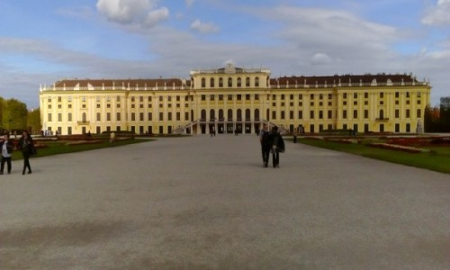 Zdjecie AUSTRIA / - / Wiedeń / Pałac Schönbrunn