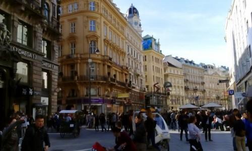 Zdjecie AUSTRIA / - / Wiedeń / Wiedeńska ulica