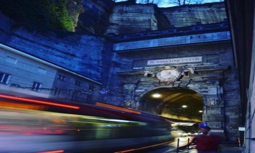 Zdjecie AUSTRIA / Salzburg  / Salzburg / Tunel w Salzburgu