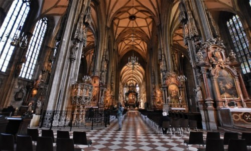 Zdjecie AUSTRIA / Stolica / Wiedeń / Katedra św. Szczepana/ Stefana