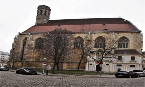 Zdjecie AUSTRIA / Stolica / Wiedeń / Dawny kościół franciszkański