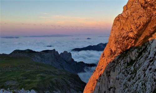 AUSTRIA / alpy / hochschwab / wschód tuż pod szczytem