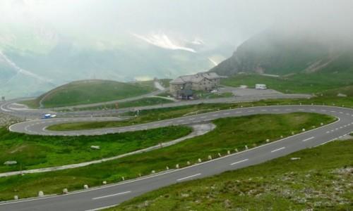 AUSTRIA / Salzburg / Grossglockner-Hochalpenstrasse  / Alpejska jazda :)