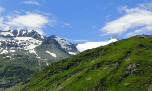 Zdjecie AUSTRIA / Karyntia / Wysokie Taury / Alpejskie widoki.