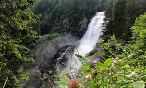 Zdjęcie AUSTRIA / Ziemia Salzburska / Krimml / Wodospady Krimml