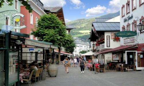 AUSTRIA / Ziemia Salzburska / Zell am See / Alpejskie klimaty