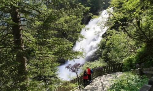 Zdjecie AUSTRIA / Kraj Salzburski / Krimml / Wodospady Krimml