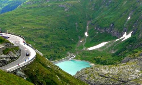 AUSTRIA / Karyntia / Wysokie Taury / Jadąc przez Alpy