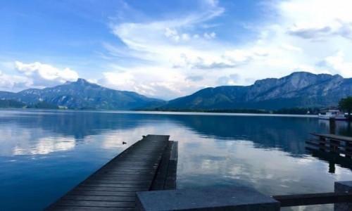 AUSTRIA / Satzkammergut / Moonsee / Moonsee