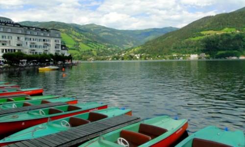 AUSTRIA / Kraj Salzburski / Zell am See / Lato w Austrii