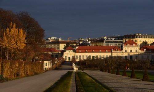Zdjecie AUSTRIA / Stolica / Wiedeń / Granatowe niebo
