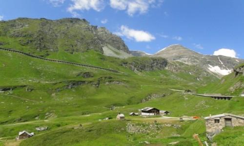 AUSTRIA / Karyntia / Park Narodowy Wysokie Taury / Lato w Alpach