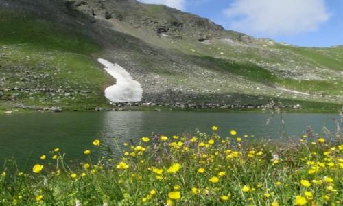 AUSTRIA / Kraj Salzburski / Park Narodowy Wysokie Taury / Lato w Alpach