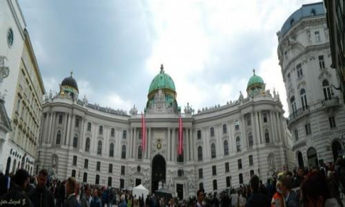 Zdjecie AUSTRIA / Wiedeń. / Wiedeń. / Pałac Hofburg – wiedeńska rezydencja władców Austrii.