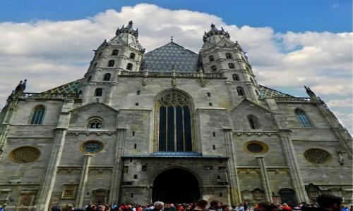 AUSTRIA / Wiedeń. / Wiedeń. / Wiedeń - Katedra św. Szczepana.