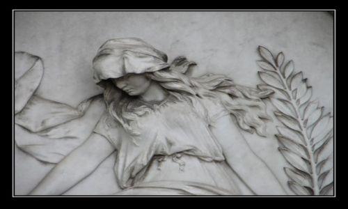 Zdjecie AUSTRIA / Wiedeń / Cmentarz Grinzing / wspomnienia ....