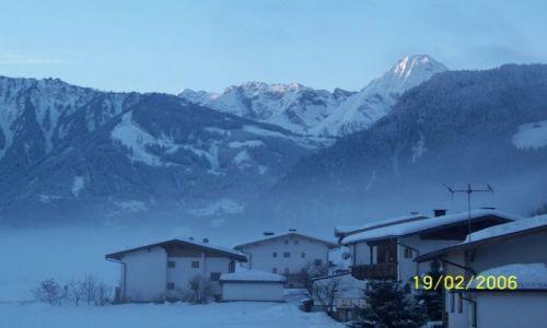 Zdjecie AUSTRIA / Dolina Zillertal / Zell / Zaraz po 6 rano