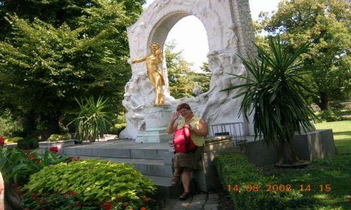 Zdjecie AUSTRIA / wiedeń / Stadt Park / W rytmie  walca
