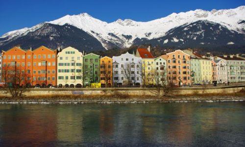 Zdjecie AUSTRIA / Tyrol / Innsbruck / zimowy Innsbruc
