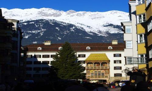 Zdjecie AUSTRIA / Tyrol / Innsbruck / złoty dach