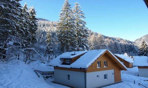 Zdjecie AUSTRIA / Karyntia / Bad Kleinkirchenheim / Austria Zim�