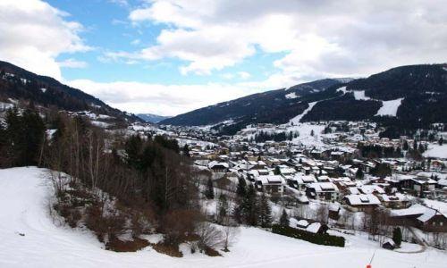 Zdjecie AUSTRIA / Karyntia / Bad Kleinkirchenheim / Austria Zimą