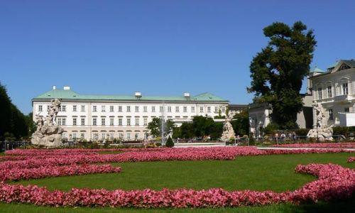 Zdjęcie AUSTRIA / brak / Salzburg / Park Mirabell