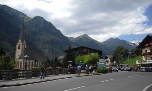 Zdjecie AUSTRIA / Taury Wielkie / Heiligenblut/kościół św.Wincentego / alpejskie klimaty